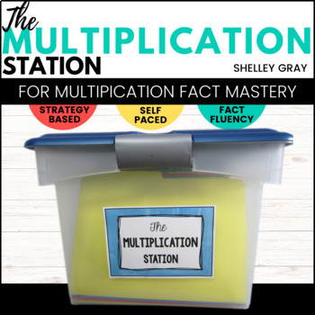 The Multiplication Station: A Self-Paced Program for Basic Multiplication Facts