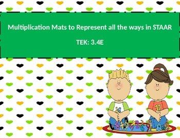 Multiplication Mat STAAR TEK: 3.4E