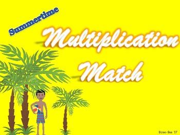 Multiplication Match NO PREP