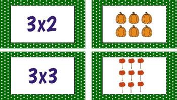 Multiplication Match: Fall Edition