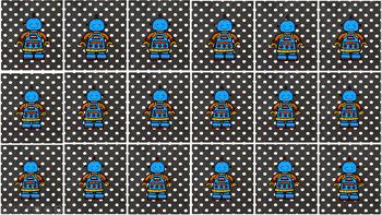 Multiplication Match Game - Nines
