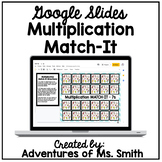 Multiplication Match-It Using Google Slides (Digital Learning)