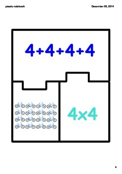 Multiplication Match Puzzle