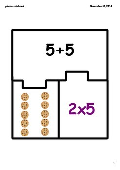 Multiplication Match Puzzle