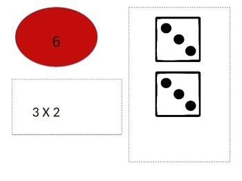 Multiplication Match Up 3's