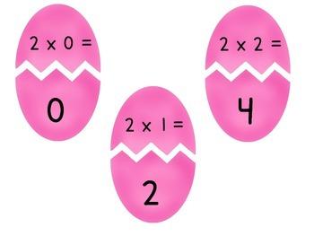 Multiplication Match Up (Spring Edition) #spedislucky