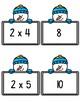 Multiplication Match-Up X 2 Snowman Theme Multiplying 2