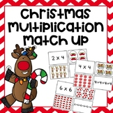 Christmas Multiplication Match Up Game