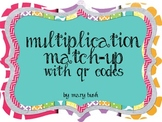 Multiplication Match-Up with QR Codes