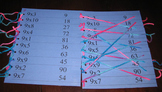 Multiplication Match x1-5