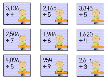 Multiplication and Divison Matching