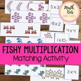 Equal Groups Multiplication - Fishy Multiplication Matchin