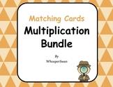 Multiplication Matching Cards Bundle