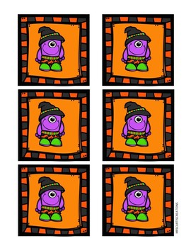 Multiplication Matching Game (Halloween Editition!)