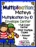 Multiplication Mateys Multiplication by 10 Envelope Center