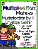 Multiplication Mateys Multiplication by 11 Envelope Center