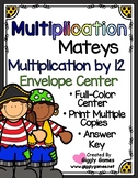 Multiplication Mateys Multiplication by 12 Envelope Center