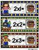 Multiplication Mateys Multiplication by 2 Envelope Center