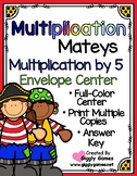 Multiplication Mateys Multiplication by 5 Envelope Center