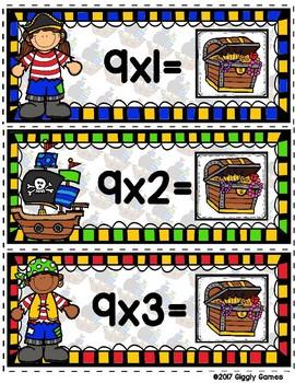 Multiplication Mateys Multiplication by 9 Envelope Center