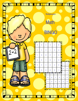 Multiplication Math Bingo