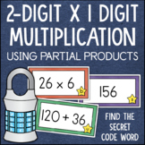 2 Digit x 1 Digit Multiplication Center