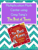 "Multiplication Math Center Using Greg Tang's ""The Best of Times"""