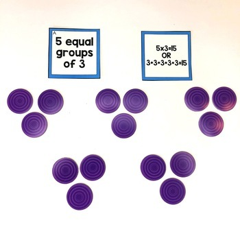 Multiplication Math Center (included in 2nd grade math centers bundle)