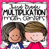 Multiplication Third Grade Math Centers