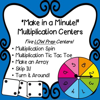 Multiplication Math Centers