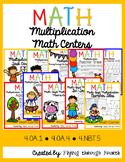 Multiplication Math Centers {4th Grade} 4.OA.1, 4.OA.4, 4.NBT.5