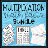 Multiplication Math Facts Bundle