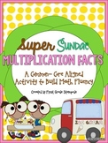 Multiplication Math Facts Fluency