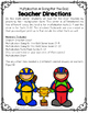 Multiplication: Math Facts {Going for the Gold! Math Center Game}
