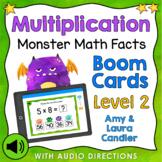 Multiplication Math Facts Level 2 Boom Cards - Digital Task Cards