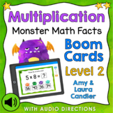 Multiplication Math Facts Level 2 Boom Cards - Digital Task Cards