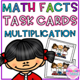 Multiplication Math Facts Task Cards (Third, Fourth and Fi