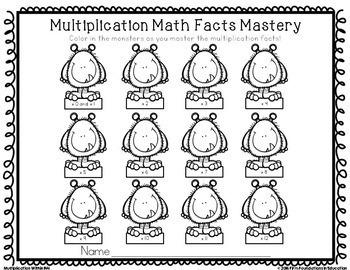 Multiplication Timed Tests