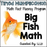"Multiplication Math Facts Timed Tests- ""Big Fish Math"""