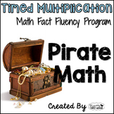"Multiplication Math Facts Timed Tests-""Pirate Math"""