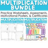 Multiplication BUNDLE Math Facts (Drills & Practice) & Multiplication Masters