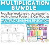Multiplication BUNDLE Math Facts (Drills & Practice) & Multiplication Masters