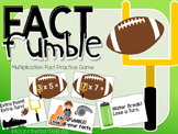 Multiplication Math Game: Fact Fumble