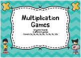 Multiplication Math Games