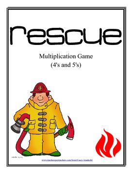 Multiplication Math Games:  5 Pack (Reinforce Math Facts in a FUN way)