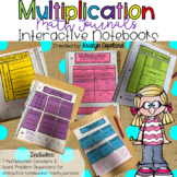 Multiplication Math Journal Pages (Interactive Math Notebooks)