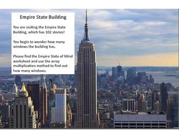 Multiplication Math Menu- New York City Style