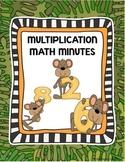 Multiplication Worksheet 1-12 3rd Grade Multiplications Fact Practice Worksheets