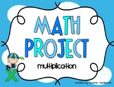 Multiplication Math Project