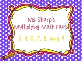 Multiplication Math Rap Songs
